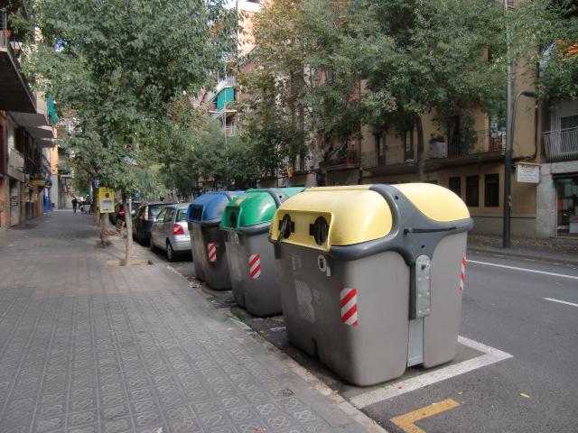 バルセロナゴミ箱