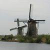 オランダの風車は超巨大!キンデルダイクの風車は癒し系!