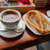チョコレートチュロスは超甘い!お洒落なスペインの朝食