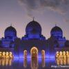 アブダビモスクの夜はアラビアンナイトの世界