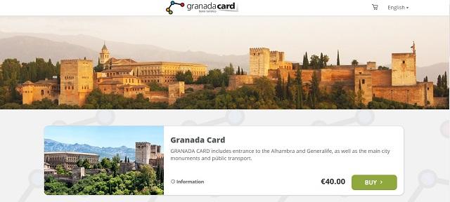 グラナダカード